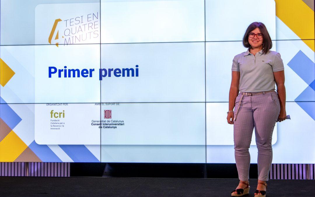 """Núria Masip, doctoranda de la UIC, guanya la quarta edició del concurs """"Presenta la teva tesi en 4 minuts"""""""