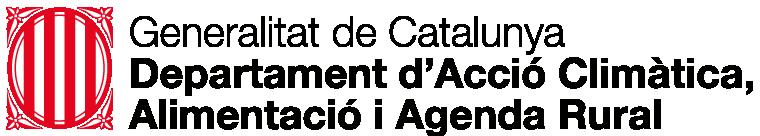 Logotip Departament d'Acció Climàtica, Alimentació i Agenda Rural