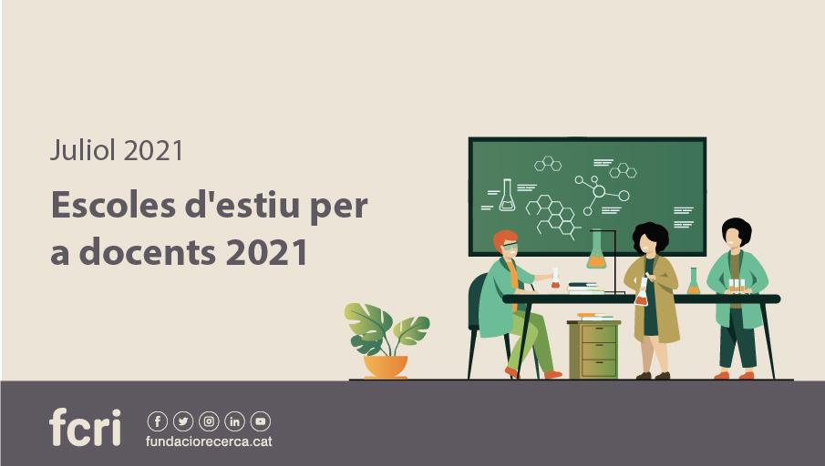S'inicien al juliol les Escoles d'Estiu 2021 de l'FCRI per a docents